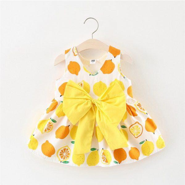 Lemon-printed-baby-girl-beautiful-frock-ali-kids-store