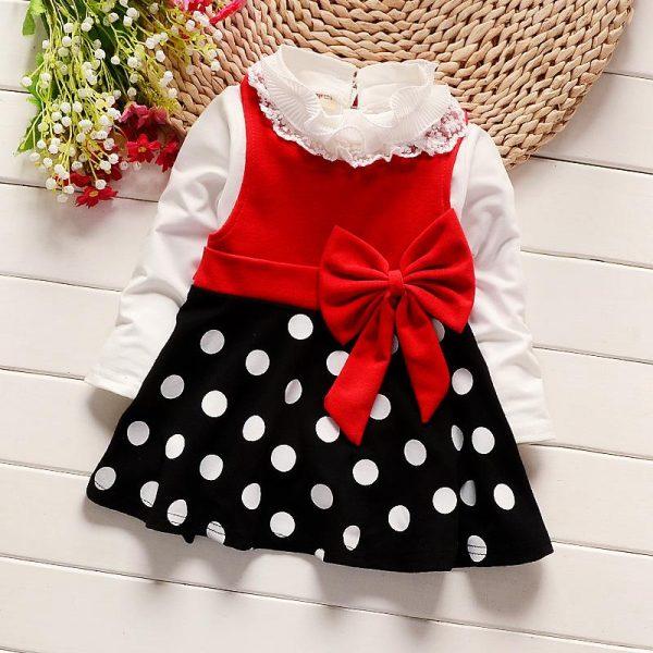 baby-polka-dot-print-bow-dresses-red-3y-girls-black-dress-longsleeve