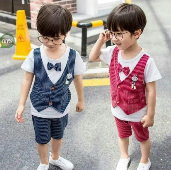 meet best shoes low price sale Stylish party wear baby boy shirt and pant summer dress – Ali Kids ...