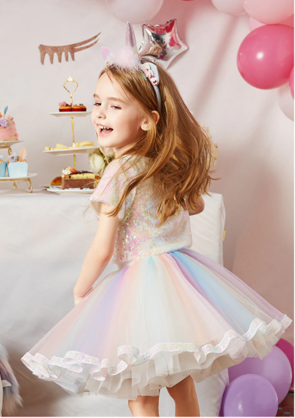 unicorn theme baby girl dresses in pakistan for eid