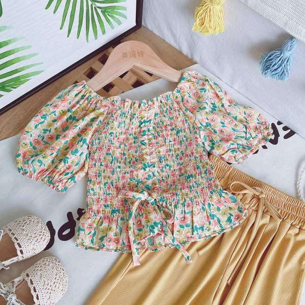 baby girl tops and trousers